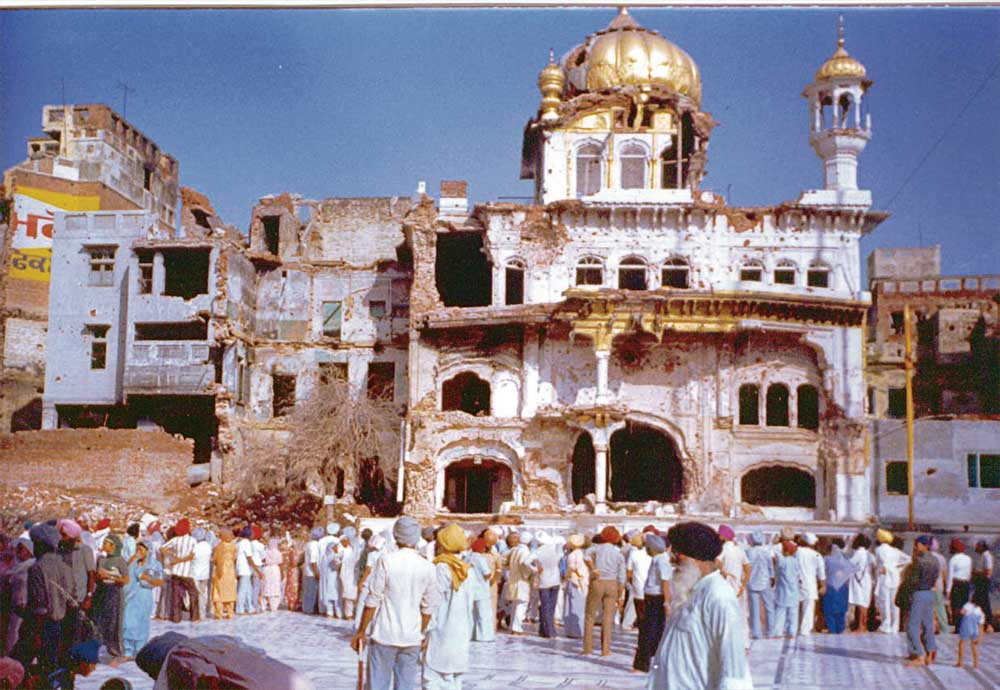 historic Sikh masscare INDIA