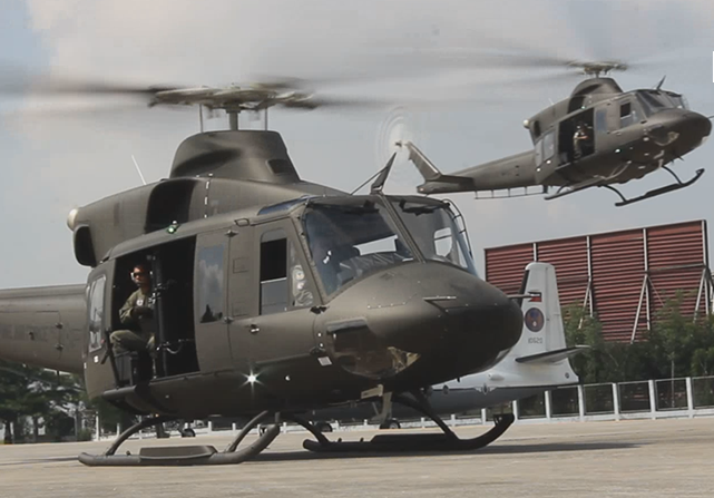 Canada helicopters Philippines