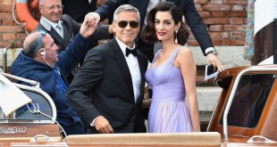 Clooney and his wife Amal Clooney,