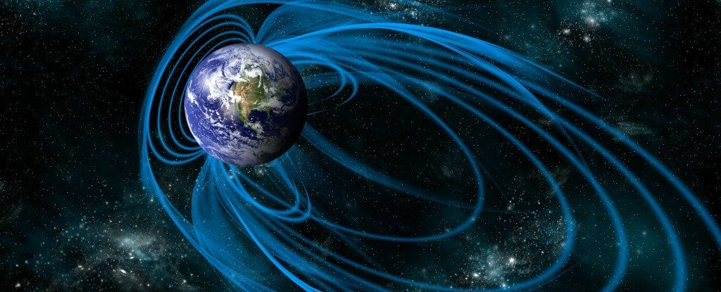 Earth's magnetic field could flip upside down