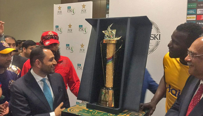 PSL3 trophy unveiled 2