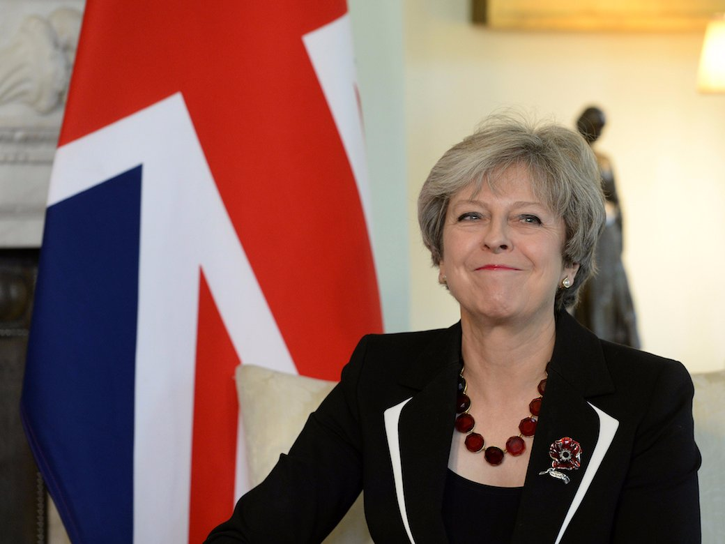 Prime Minister Theresa May REUTERS-Joe Giddens-Pool