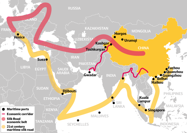 CPEC silk road OBOR