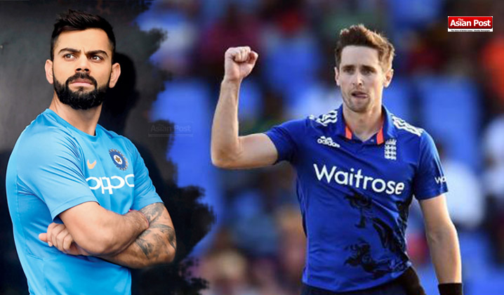 Chris Woakes - kohli
