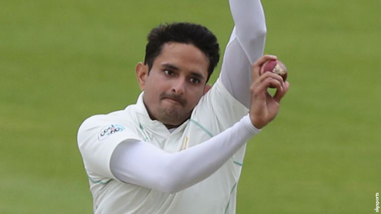 Mohammad Abbas took three of the five Northants wickets to fall on day four