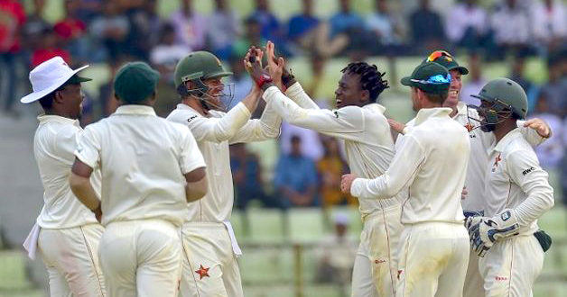 Zimbabwe storm to first away Test win in 17 years