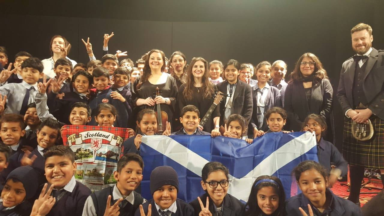 Scottish band Reely Jiggered performs in Lahore -
